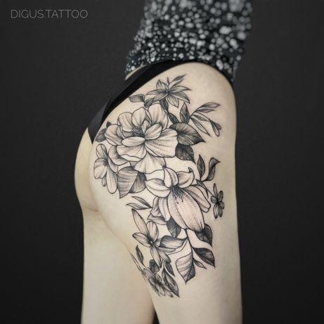 Татуировки Алматы, Профессиональное Тату в Алмате . Almaty tattoo.