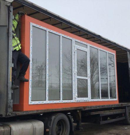 Container containere tip birou șantier modulare