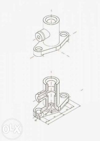 Изготвяне на чертежи и 3D моделиране с AutoCAD