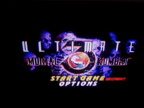 Игра на сега sega Mortal Kombat Ultimate