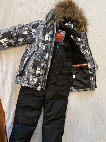 Продам зимний костюм на мальчика 92см