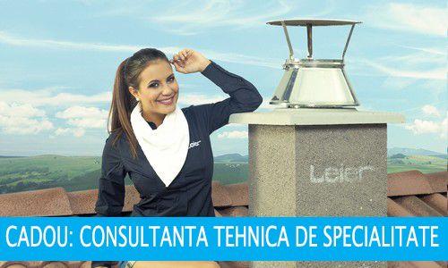 Cos ceramic ventilat LEIER LSK, varianta Premium,20cm/7m,CU transport