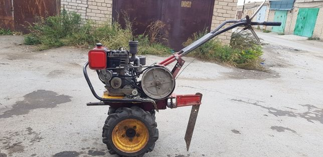 Мотоблок ЛУЧ, двигатель МБ 1