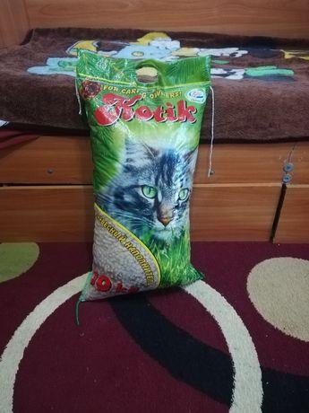 Кошачий наполнитель 10кг продам за 5000тг
