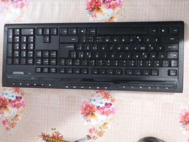 Tastatura cu bateri