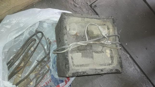 Электроплитки в нерабочем состоянии 2 шт - 1500