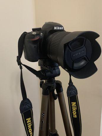 Продам фотоаппарат 24МП, полупроф Nikon