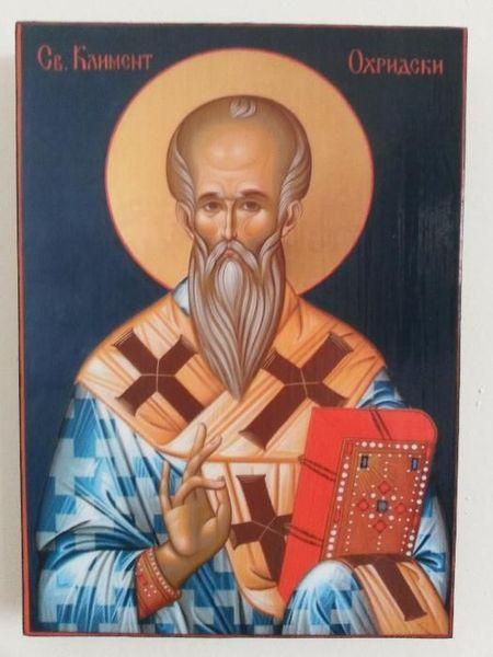 Икона на Свети Климент Охридски icona Sveti Kliment Ohridski гр. Пловдив - image 1