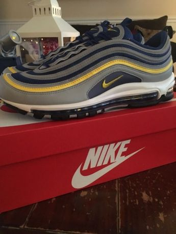 Nike air max 97 Michigan Wolf Grey/Tour Yellow 41