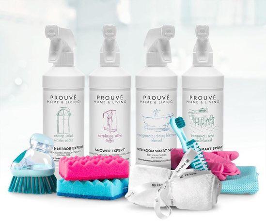 Налични почистващи и перилни препарати Prouvé