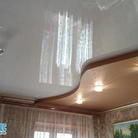 Натяжные потолки 15% скидка на осветительные приборы