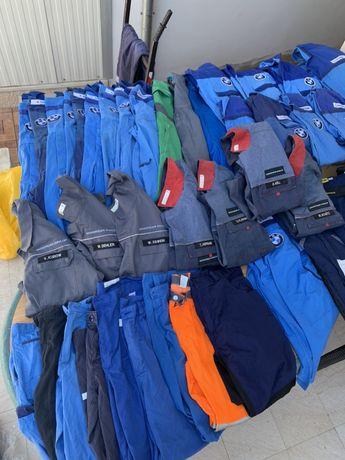 Salopete pieptar/bluze salopeta/pantaloni talie muncitori/halate/veste