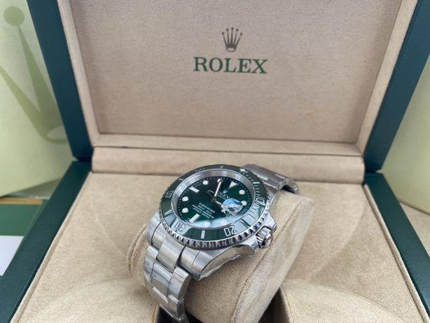 "Rolex Submariner Ceramic Green ""HULK"", 904L, ETA4130 SWISS"