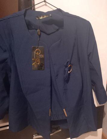 Продам вечерний костюм синего цвета
