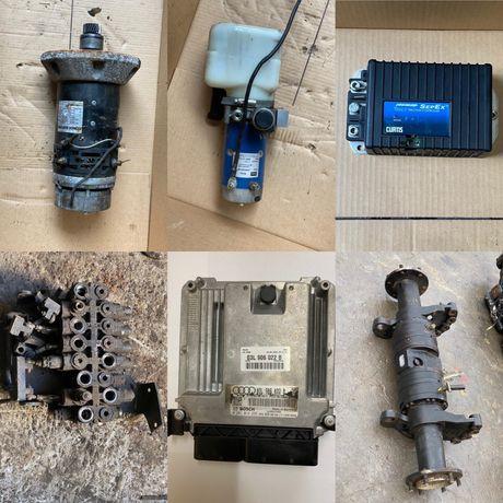 Calculatoare, motoare hidraulice, distribuitoare, pompe hidraulice