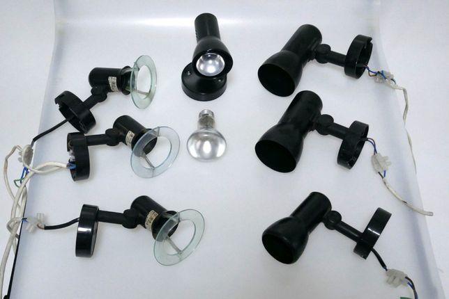 Set lampi spot negre