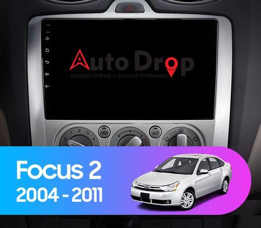 Navigatie Ford Focus, Manual AC, Android 9.1, Quadcore / 2GB CARPAD