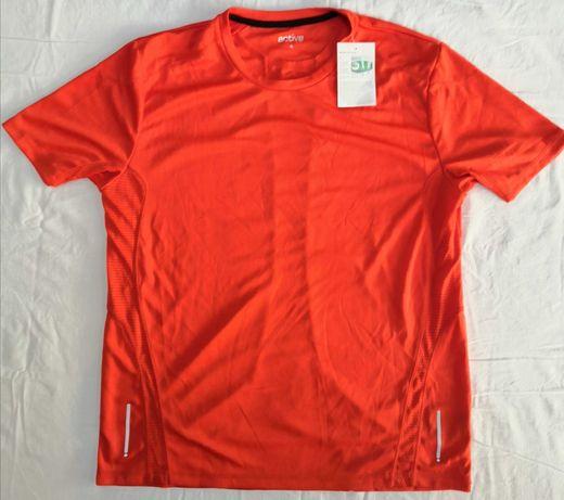 Tricou tehnic pentru alergare jogging, TCM Dryactive plus, XL
