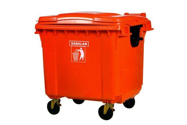 Пластиковый большой мусорные баки