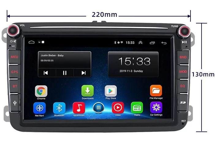 """Navigatie 9"""" Dvd Auto Android Volkswagen VW Skoda Seat WiFi Gps Bucuresti - imagine 1"""