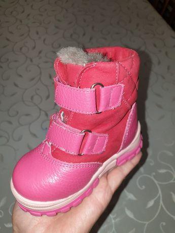 Обувь зимняя кожанная