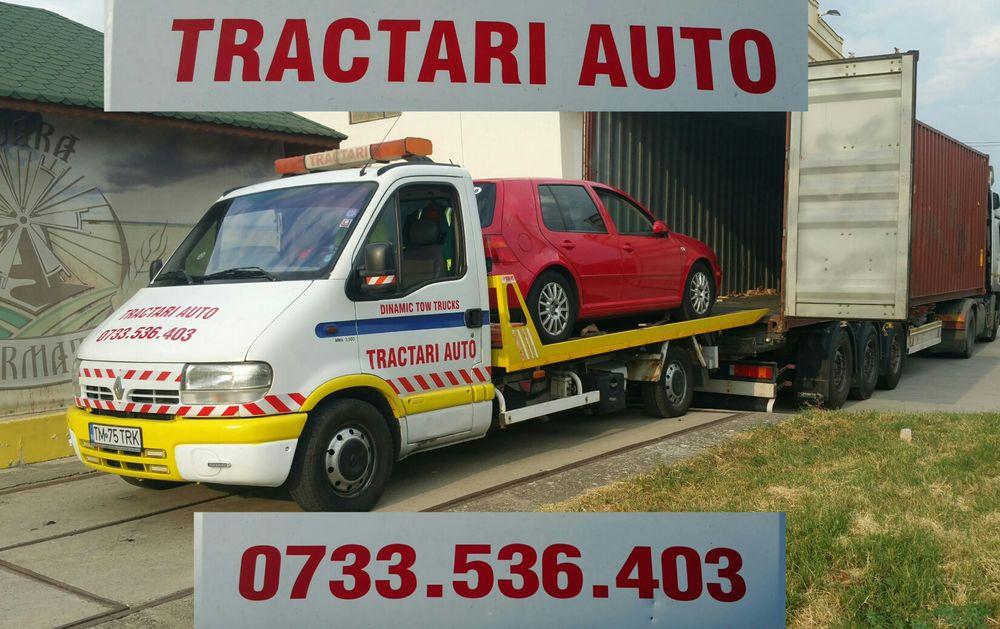 Platforma hidraulica accident/defecte/avariate/tractare/transport auto Timisoara - imagine 1