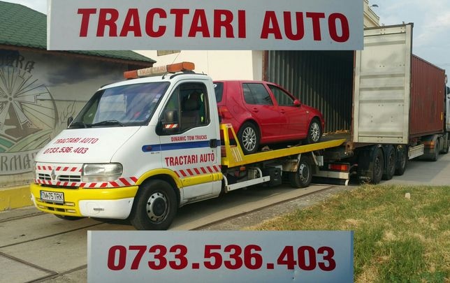 Platforma hidraulica accident/defecte/avariate/tractare/transport auto