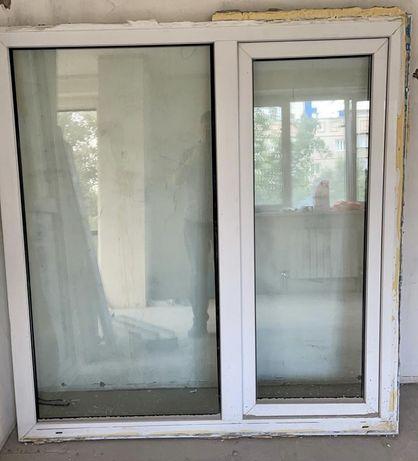 Пластиковые окна/ двери б/у