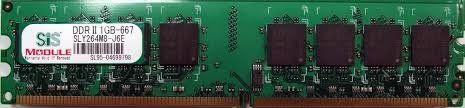 Memorii RAM 1Gb DDR2 667Mhz PC2-5300 SIS SLY264M8-J6E