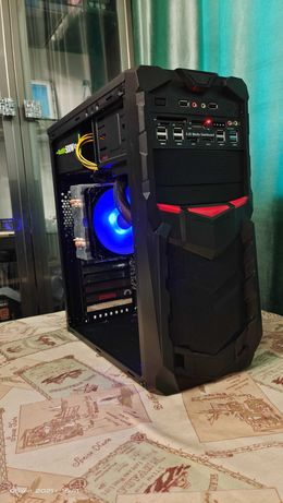 Мощный комп. Core i3 I0I00 (4 ядер,8 пот) /Asrock B640/8Gb/SSD240
