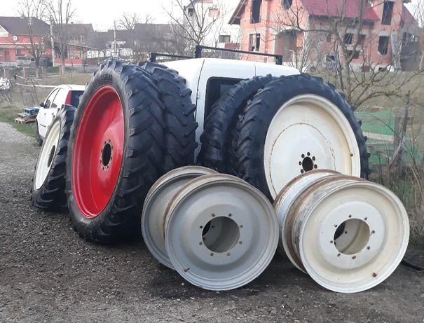 roti tractor  inguste 270/95/48 cu 270/95/32 N HOLAND CASE FIAT