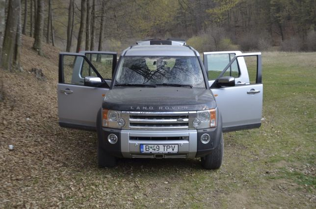 Land Rover Discovery 3, 2007.
