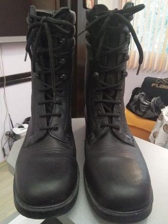 Обувки за лов и риболов,естествена кожа, подметката е шита и лепена