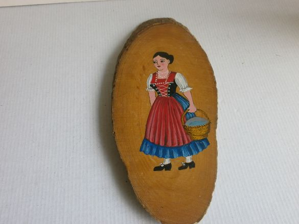 Старо Немско Рисувано Пано, Картина за Стена