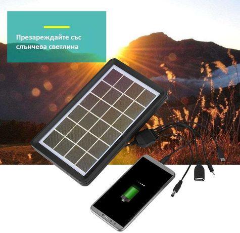 Соларен панел тип зарядно 5в1 3.4W 9V - соларно зарядно