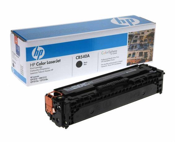 Cartus toner HP original, CB540A, CP 1215, CM1312, CP1515m, CP1518n