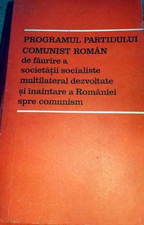 Carti COMUNISM & SOCIALISM Ceausescu PCR , congres epoca / colectie