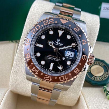 Rolex GMT Master II Rose Gold- Steel 126711CHNR Automatic ETA 1 la 1