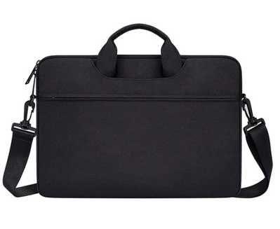 "Geanta laptop 13""-14"" inch compacta neagra"