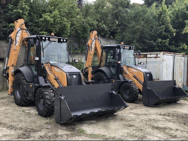 Inchiriez buldoexcavator, miniexcavator, traker - 50 lei / ora