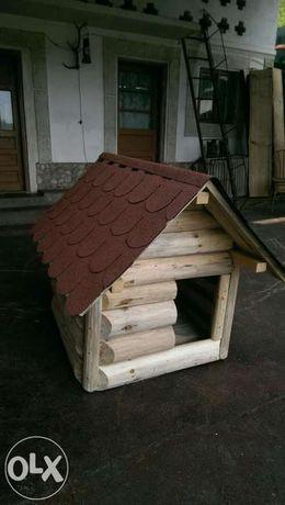 Cusca / cotet pentru caine din lemn (**Casa Padurarului**)