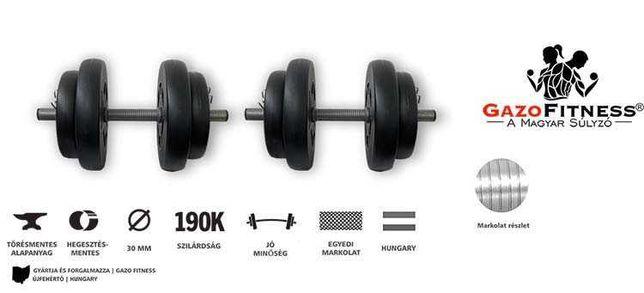 GANTERE 2 X 16kg Gazo Fitness
