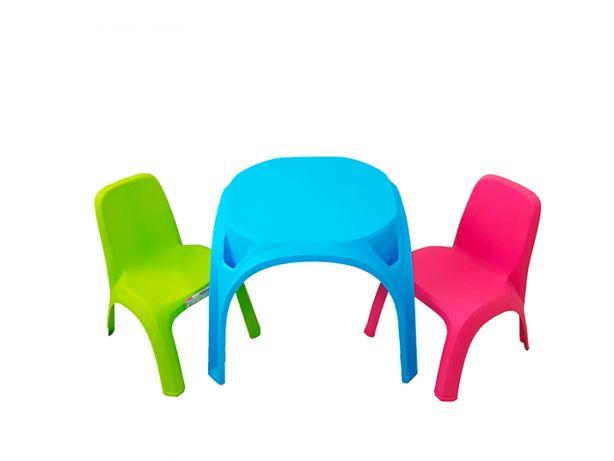 Set Masa+2 scaunele cu spatar copii