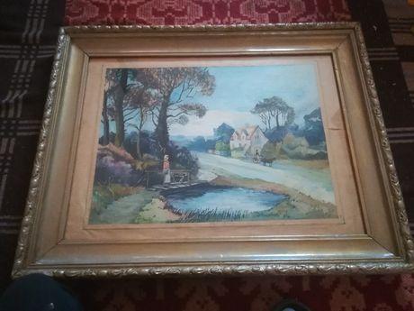 Tablou mare vechi pictura