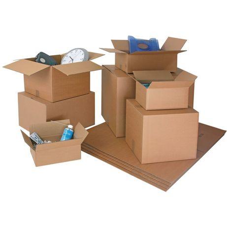 Cutii carton ieftine, refolosite. Stare impecabila