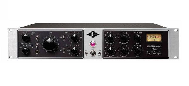 Топовый Предусилитель+ компрессор  ламповый Universal audio 6176