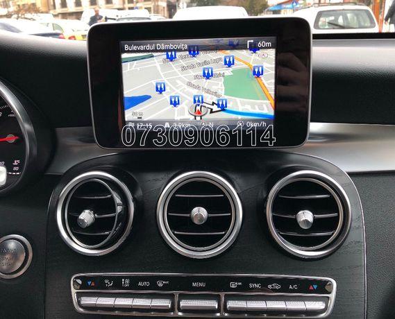 Card SD Navigatie Mercedes Garmin Audio 20 C E V GLC GLK Star v15 2020