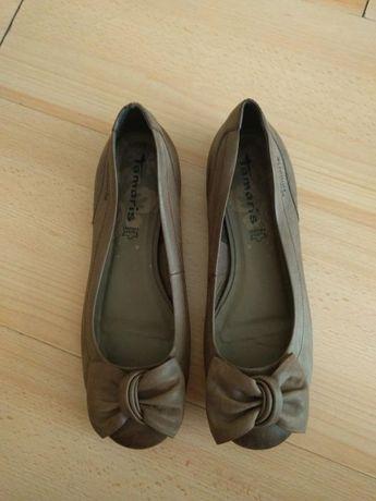 Продавам дамски обувки Tamaris естествена кожа