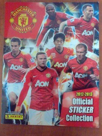 Album stickere Manchester United (sezon 2012-2013)