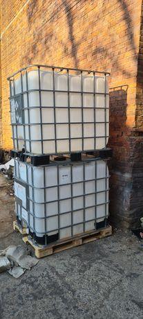 Bazine 1000 l  plastic cu grilaj